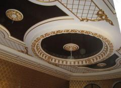 Фотопечать на натяжном потолке Узбекский стил