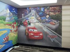 Фотопечать на стенах для детской комнаты