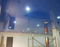 Монтаж натяжного потолка в доме
