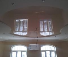 Монтаж натяжного потолка в офисе