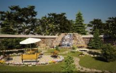 Озеленение садового участка