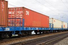 Железнодорожные перевозки платформами