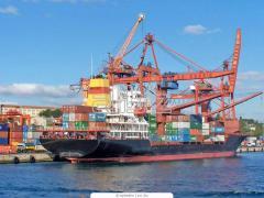 Грузоперевозки контейнеровозами
