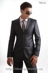 Tailoring of a men's sui