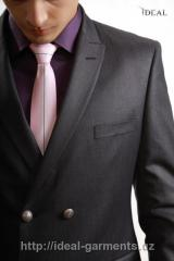 Tailoring of a men's suit from IDEAL