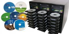 Тираж дисков с оформлением