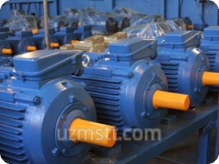Repair of electric motors with vsypny