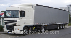 Services in road haulage of loads