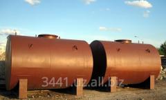Изготовление стальных вертикальных резервуаров объемом от 10м3 до 10 000м3