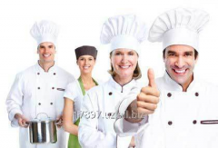 Services of the cook