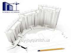 Design of buildings and constructions