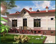 Дизайн дома в стиле современной классики