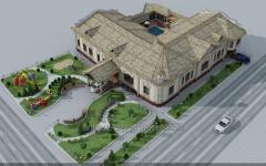 Проектирование различных архитектурных объектов