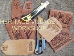 Обучающие мастер-классы  по изготовлению из кожи декоративных изделий