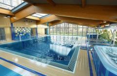 Строительство стационарных и композитных бассейнов