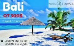В острове Бали на 13 дней от 300$