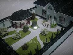 Services of buildings exterior design works