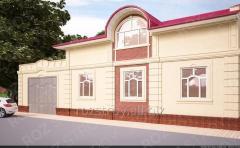 Дизайн экстерьеров зданий 19