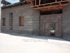 Строительство коробки дома 09