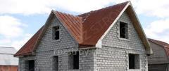 Строительство коробки дома 33