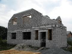 Строительство коробки дома 34