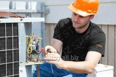 Услуги электромонтажные