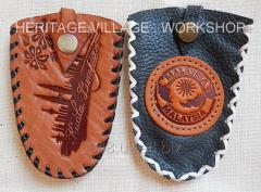 Кожаные изделия для Малайзии . Handmade leather souvenir for Malaysia