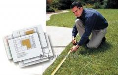 Services of design and installation of irrigation