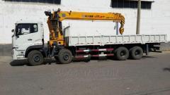 Аренда и услуги манипуляторов грузоподъемностью 16 тонн