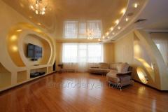 Ремонт,Гипсокартонные потолки любого стиля ,таркет , кройка крыш