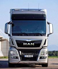 Международные грузоперевозки с грузовыми авто (реф.,тент.)