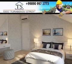 Cosmetic repair of apartments