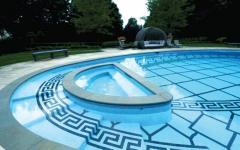 Услуга по обустройству бассейнов
