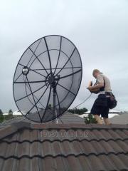 Установка спутниковых антенн в Ташкенте и в вилоятах - форма оплата любая!