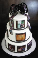 Вафельные и сахарные картинки на торт