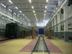 Электромонтаж производственных помещений.