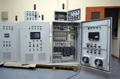 Сборка и установка электро-щитов и автоматики для