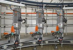 Maintenance of milking equipment