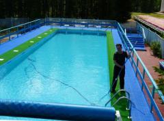 Техническое обслуживание общественных и стационарных бассейнов.