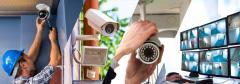 Монтаж видеонаблюдения и охранных систем безопасности.
