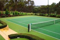 Строительство теннисных кордов под ключ
