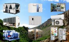 Монтаж бытового промышленного, холодильного оборудования