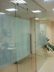 Эксклюзивные стеклянные перегородки