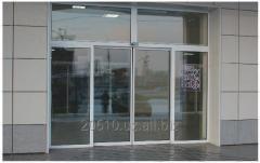 Автоматические стеклянные двери на заказ в Ташкенте