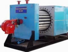 Установка котлов электрических водогрейных