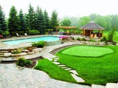 Озеленение и уход с садом