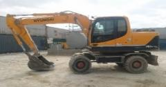 Аренда колесного экскаватора Wheel excavator
