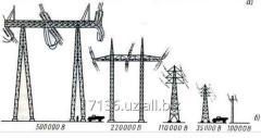 Строительство высоковольтных и низковольтных линий электропередач КЛ-ВЛ от 0,4кв до 110кв