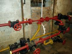 Монтаж или  ремонт  отопительной системы и проводка горячего и холодного  водоснабжения