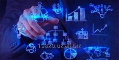 Разработку бизнес-планов и технико-экономических обоснований (ТЭО, ПТЭО)